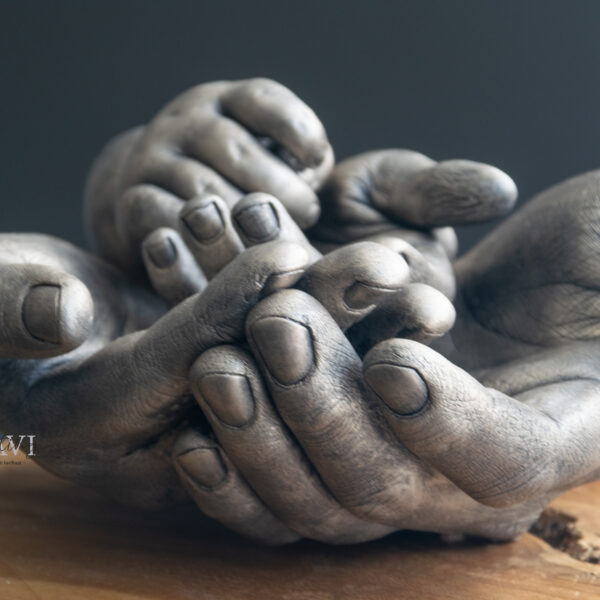 Handbeeld gezin