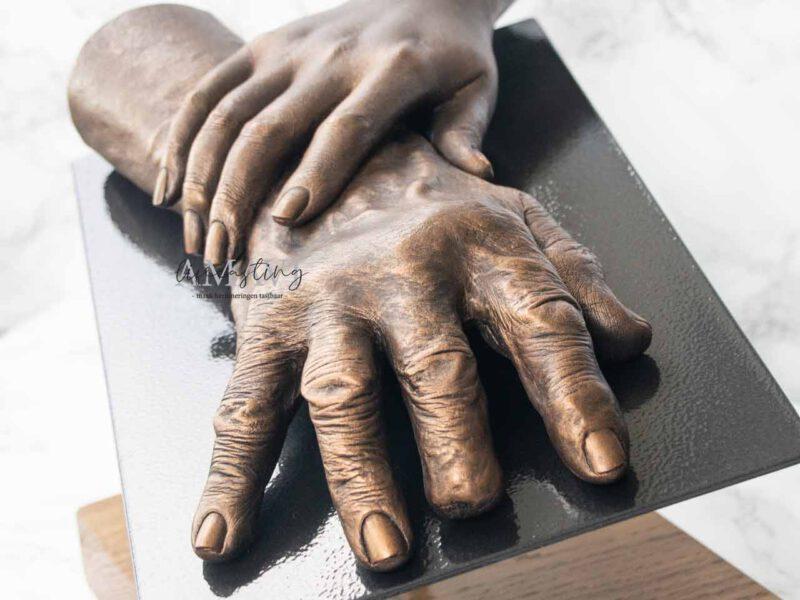 Handbeeld bij Afscheid